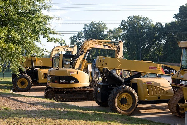 Reliable Construction Equipment Rentals in Louisiana