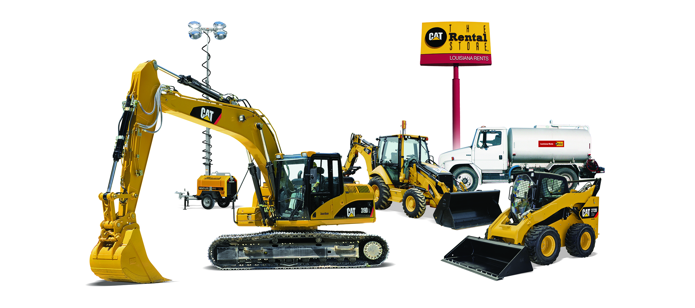 reliable equipment for rent