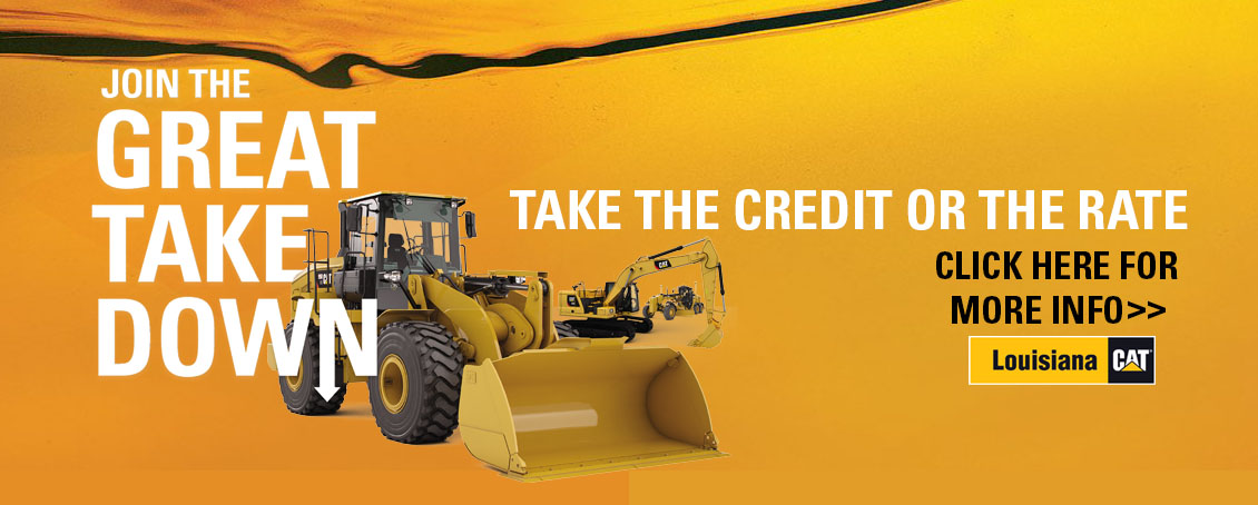 Cat® Construction & Heavy Equipment Dealer | Louisiana CAT