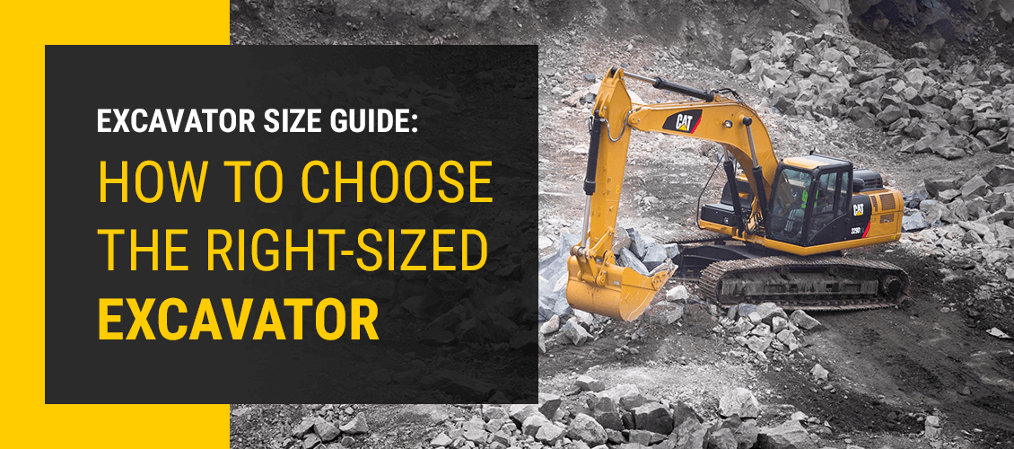 Excavator Size Guide: How to Choose the Right-Sized Excavator