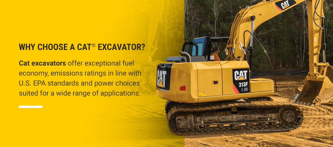 Why Choose a Cat® Excavator?