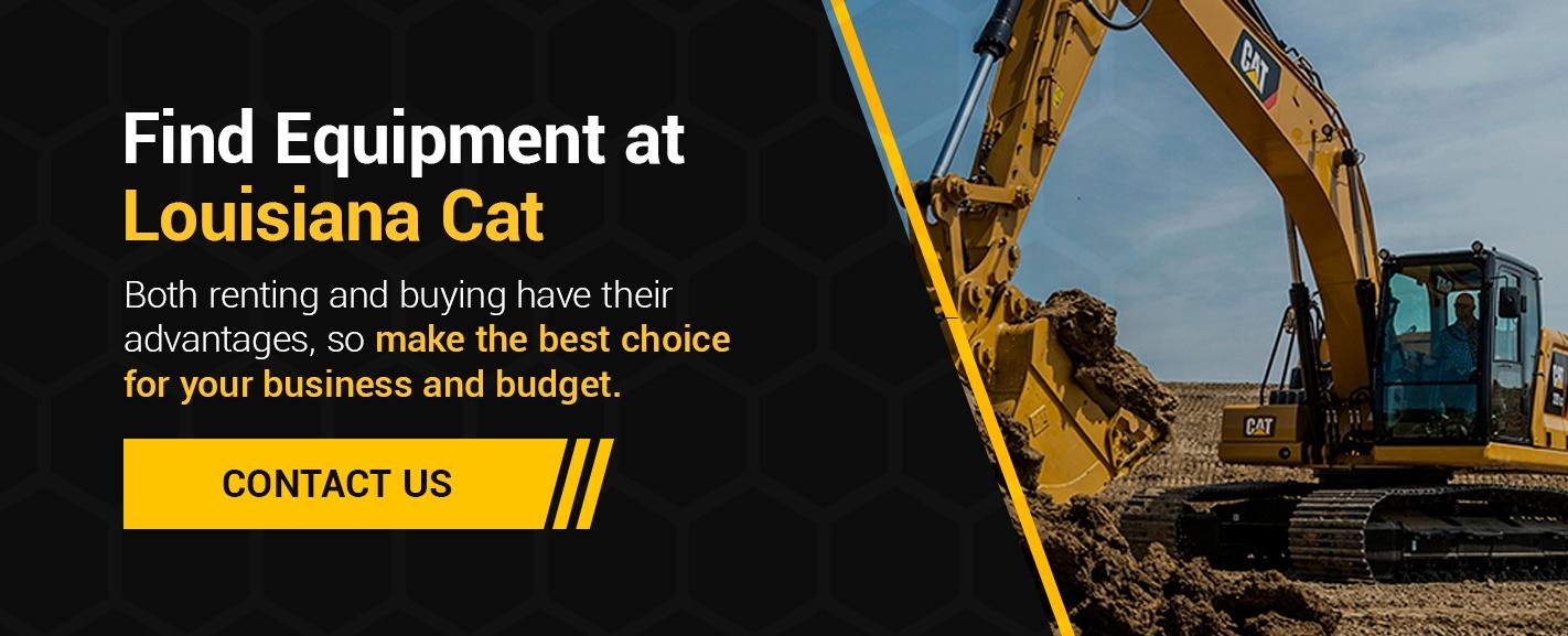 Find Equipment at Louisiana Cat