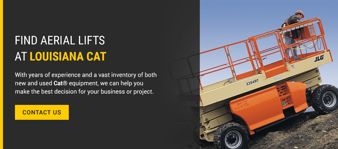 Find Aerial Lifts at Louisiana Cat