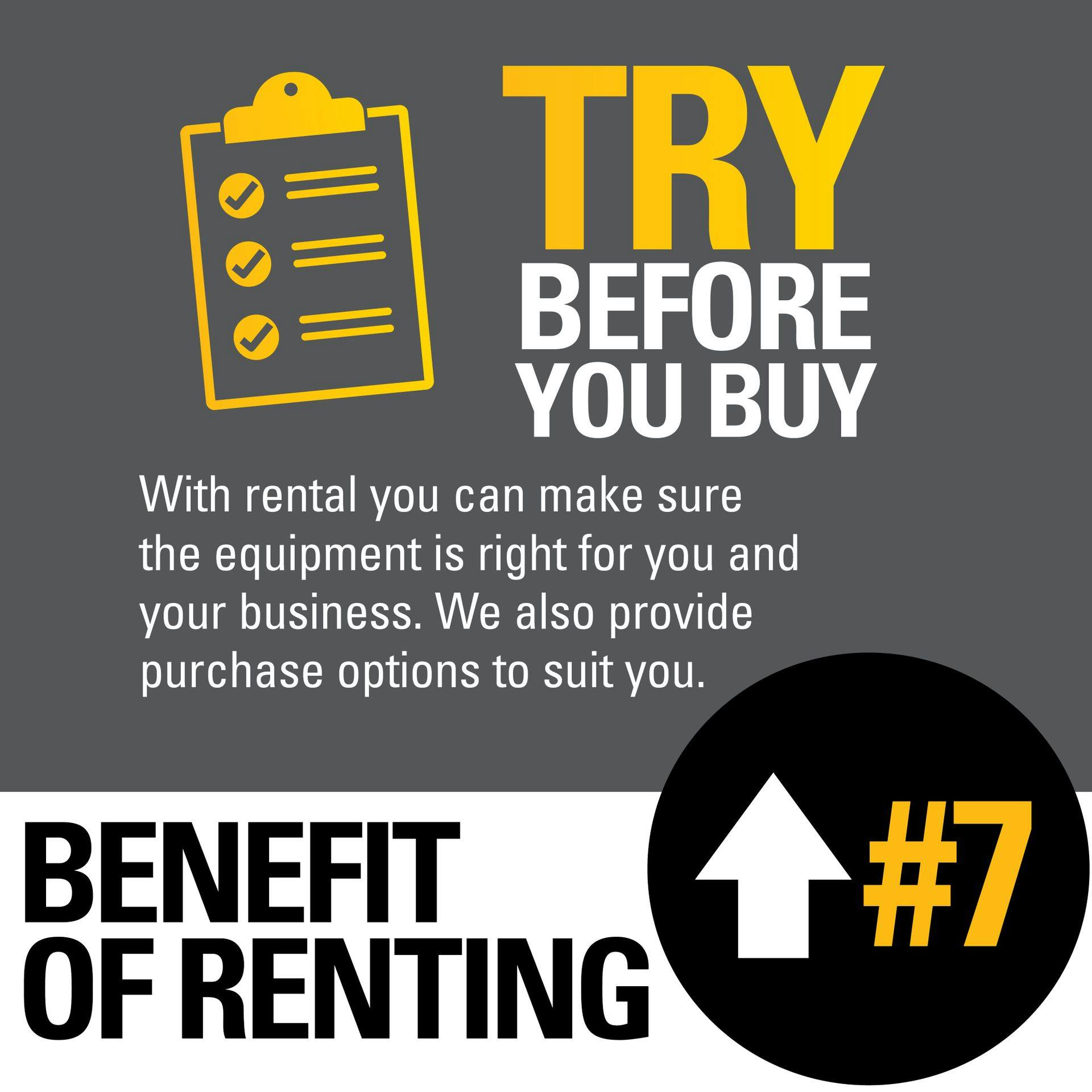 7 Benefit of Renting